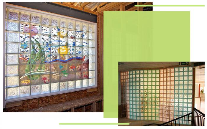 Xu hướng sử dụng gạch kính lấy sáng trong trang trí nội thất