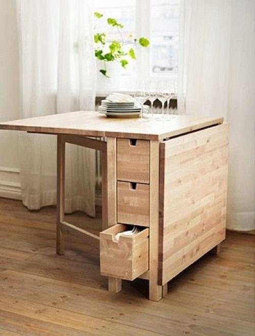 8 ưu điểm tuyệt vời của bàn ăn thông minh gỗ tự nhiên