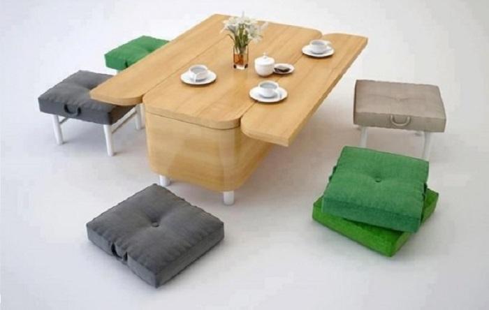 bàn ăn thông minh cao cấp nâng tầm giá trị không gian nhỏ