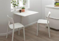 14 mẫu bàn ăn tiện lợi drop leaf cho không gian nhỏ