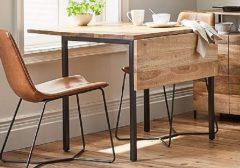 Không gian nào phù hợp với bàn ăn gấp gọn giá rẻ?