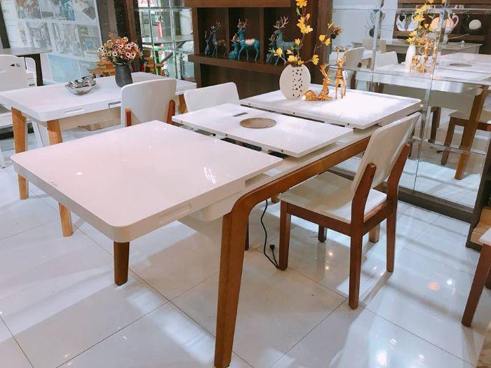 Lý giải sức hút của bàn ăn thông minh mặt kính 1