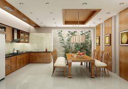 Cách bố trí bàn ăn nhỏ trong căn bếp chật hẹp