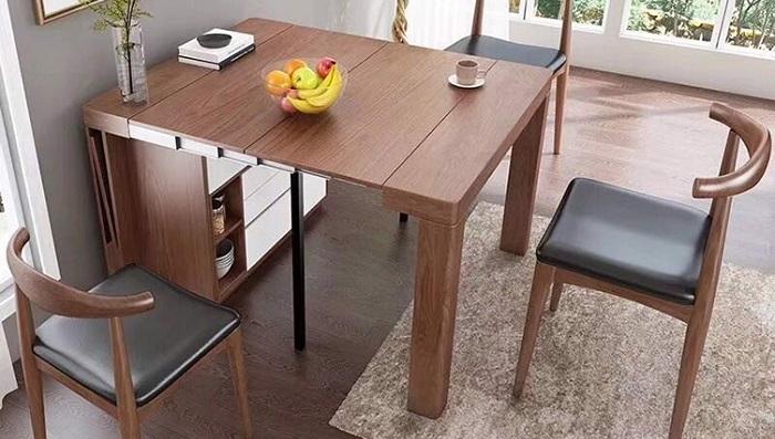 Gợi ý những thiết kế bàn ăn thông minh cho nhà nhỏ 3