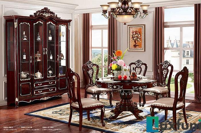 Top những mẫu bàn ăn gỗ cao cấp, được yêu thích nhất năm 2020-4