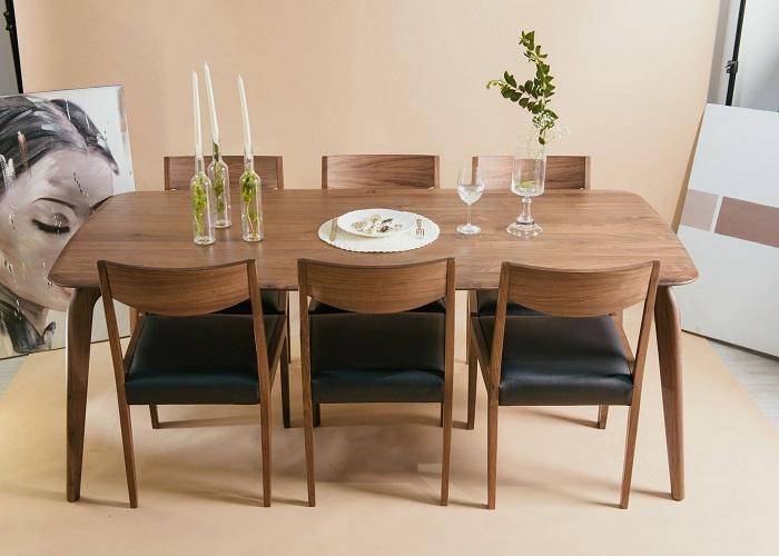 Top những mẫu bàn ăn gỗ cao cấp, được yêu thích nhất năm 2020-6