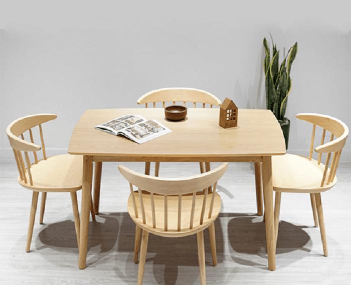 Tư vấn những mẫu bàn ăn nhỏ 4 ghế đẹp và tinh tế-2