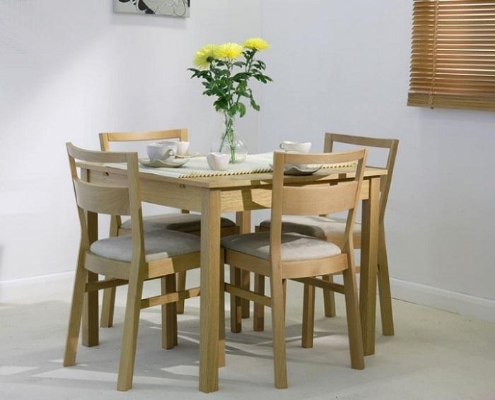 Tư vấn những mẫu bàn ăn nhỏ 4 ghế đẹp và tinh tế-4