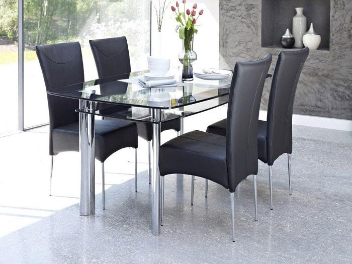 Tư vấn những mẫu bàn ăn nhỏ 4 ghế đẹp và tinh tế-6