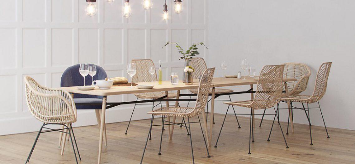 Phong cách và chất liệu các mẫu bàn ăn hiện đại có gì đặc biệt?
