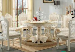 Điểm qua một vài xu hướng bàn ăn tròn 6 ghế đẹp nhất