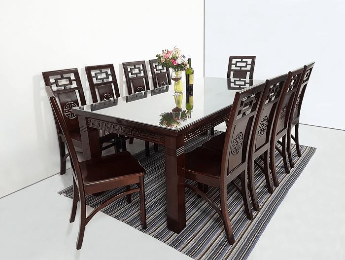 Kinh nghiệm chọn mua bàn ăn 10 ghế hiện đại 2