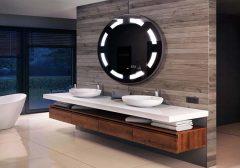 Gương tròn nhà tắm đèn LED-mang sự hiện đại vào ngôi nhà bạn