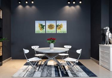Bàn ăn B2252 – bộ bàn ăn thông minh giúp tiết kiệm tối đa diện tích