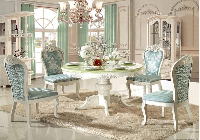 Các mẫu bàn ăn đa dạng theo chất liệu, phong cách, kiểu dáng