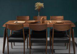 Tất tần tật thông tin về bàn ghế ăn gỗ óc chó tự nhiên