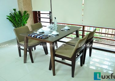 Những mẫu bàn ghế ăn đẹp mang phong cách Bắc Âu