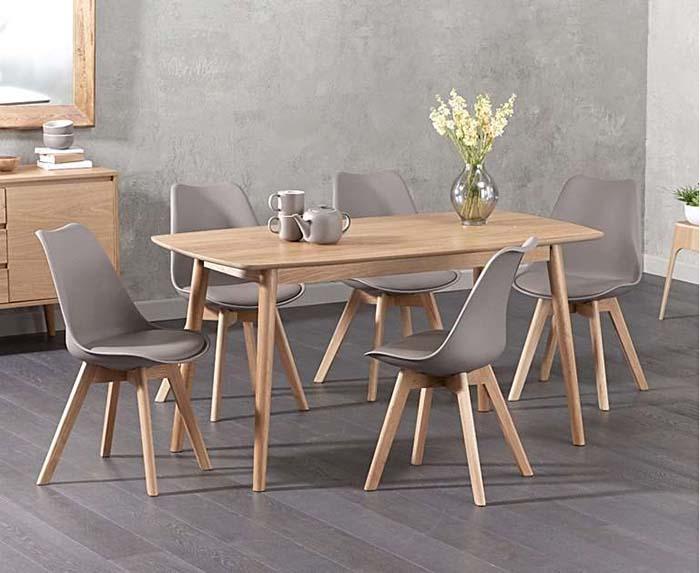 Bàn ghế ăn gỗ sồi - liệu bạn có thực sự nên đầu tư -2
