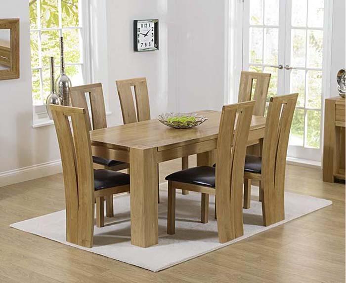 Bàn ghế ăn gỗ sồi - liệu bạn có thực sự nên đầu tư -4