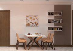 Hé lộ 3 bộ bàn ăn giá rẻ nhỏ gọn dành cho căn hộ và chung cư
