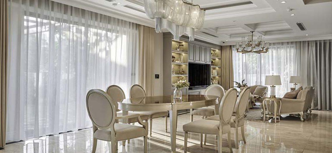 Không gian đẹp như mơ với top 4 mẫu bàn ăn tân cổ điển giá rẻ