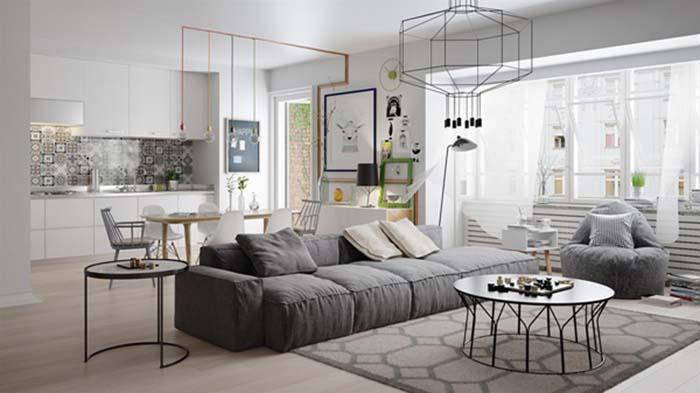 Mẹo thiết kế nội thất chung cư nhỏ giúp không gian thoáng đãng -10