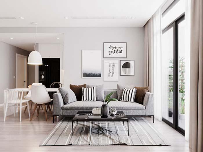 Mẹo thiết kế nội thất chung cư nhỏ giúp không gian thoáng đãng -6
