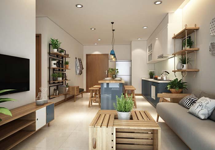 Mẹo thiết kế nội thất chung cư nhỏ giúp không gian thoáng đãng -8