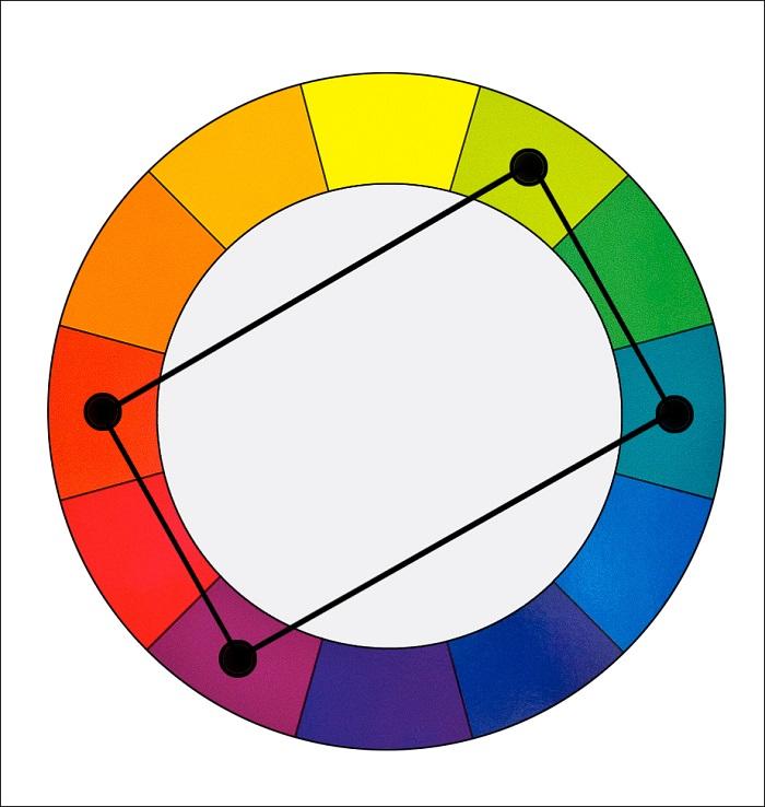Nguyên tắc cơ bản trong phối màu và cách phối màu sơn đẹp-16