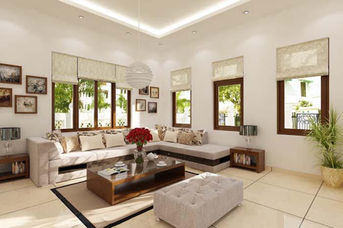 Những món đồ decor trang trí nội thất phòng khách phong cách hiện đại -2