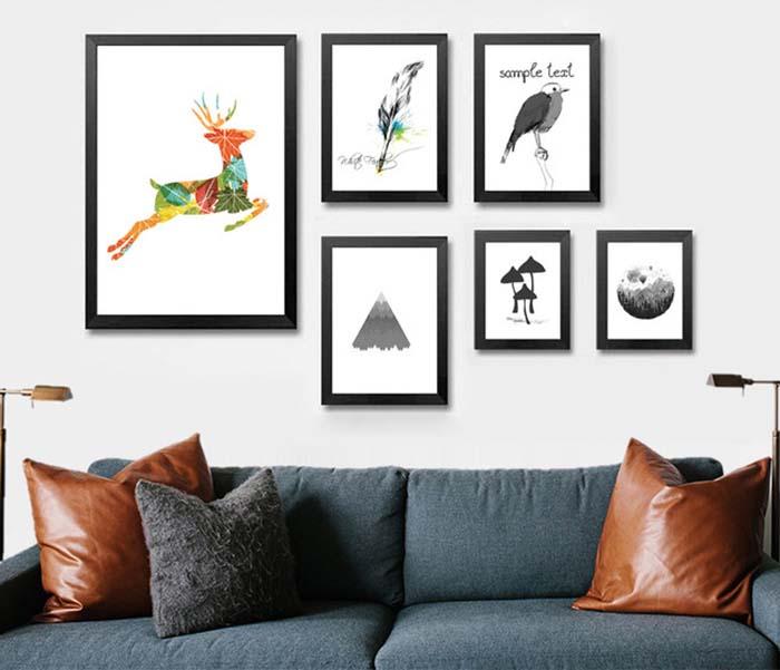 Những món đồ decor trang trí nội thất phòng khách phong cách hiện đại -3