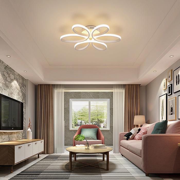 Đèn chùm phòng khách chung cư