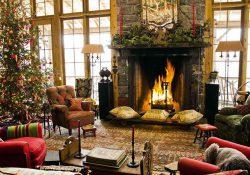 Trang trí phòng khách thổi hồn không khí Giáng sinh vào ngôi nhà của bạn