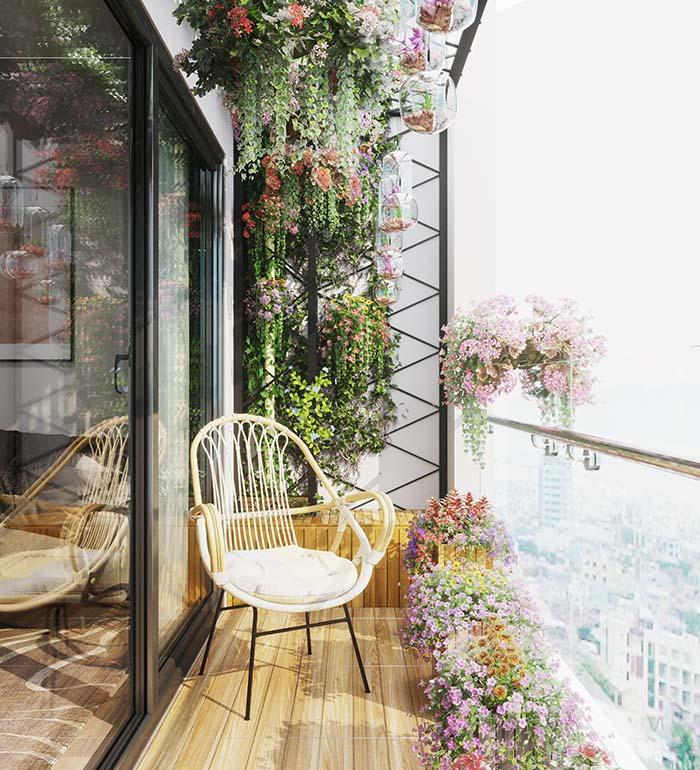 5 mẹo trang trí ban công chung cư thu hút mọi ánh nhìn -2