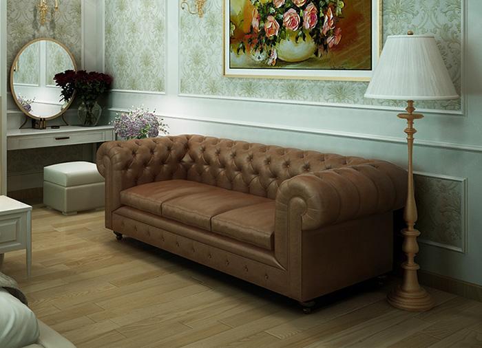 Sofa da được nhiều gia chủ ưu tiên lựa chọn