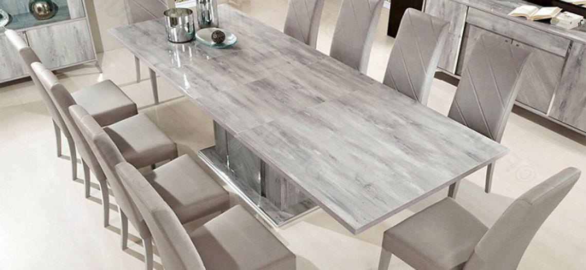 Những điều cần biết về bàn ăn mặt đá cẩm thạch (Marble)
