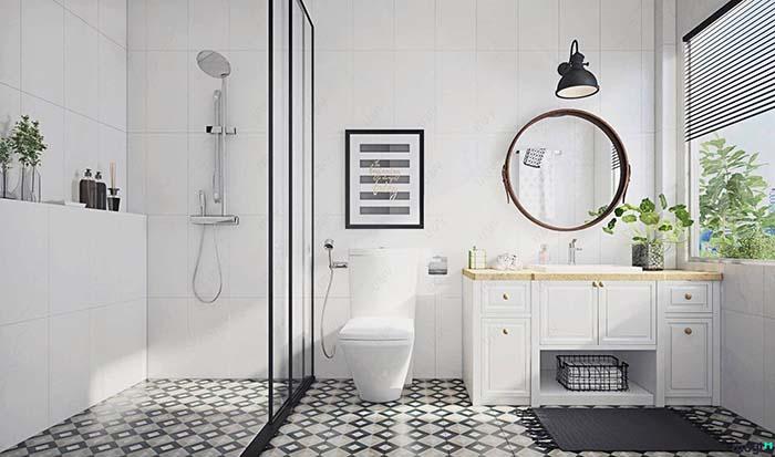 Thiết kế nội thất phòng tắm mang đến cảm giác thư giãn