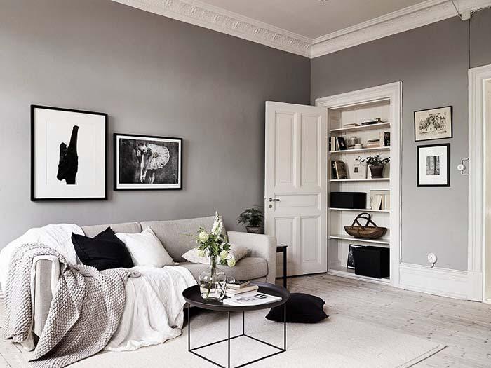 Thiết kế nội thất gam màu trung tính trẻ trung và hiện đại