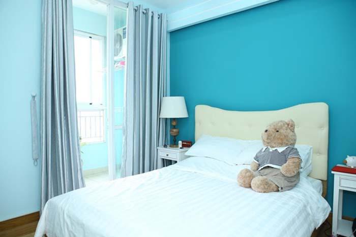 Trang trí phòng ngủ bằng rèm cửa