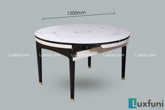 bộ bàn ăn thông minh 4 ghế gấp gọn T1959