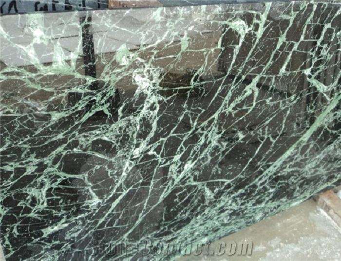 Đá Marble Spider Green MT-DM076