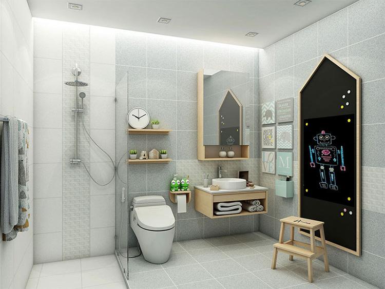 Phòng tắm theo phong cách hiện đại