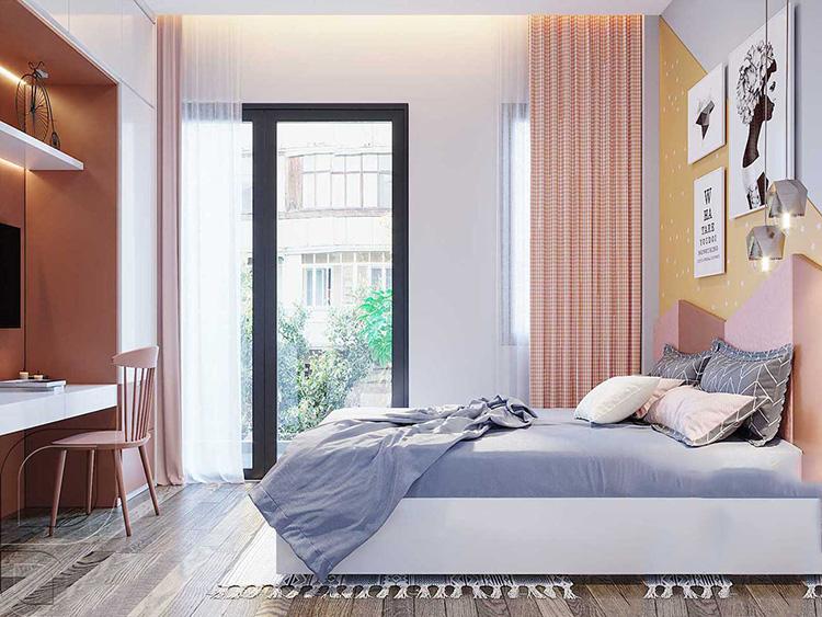Phòng ngủ của vợ chồng trẻ