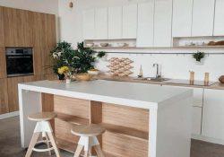 Bí quyết trang trí phòng bếp dài và hẹp